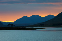 An Teallach from Loch Droma